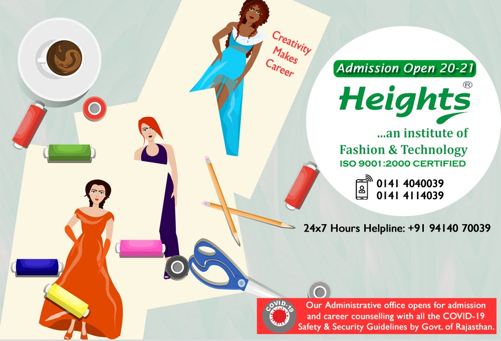 Heights Fashion Institute Jaipur Fashion Design Institute In Jaipur Interior Design Institute In Jaipur